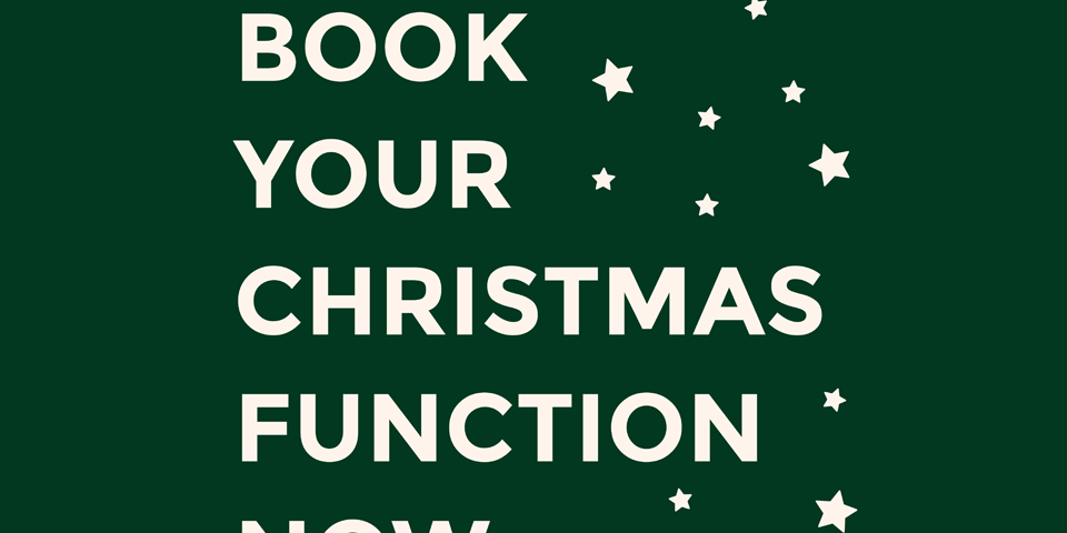 Restaurant Function Hall Christmas Poster