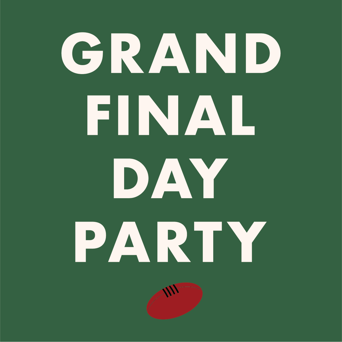 Grand Final Day Party - image Leveson_Instagram_GrandFinalDay-03 on https://theleveson.melbourne