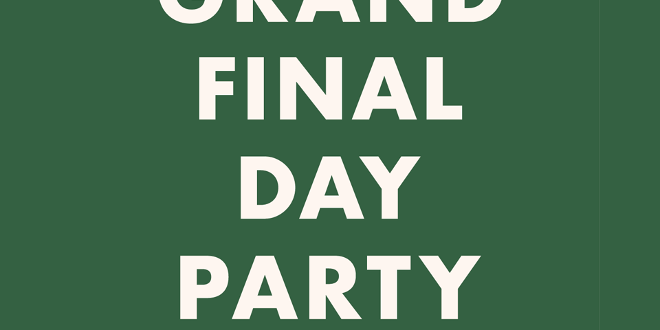 Grand Final Day Party - image grand-final-day-featured-960x480 on https://theleveson.melbourne