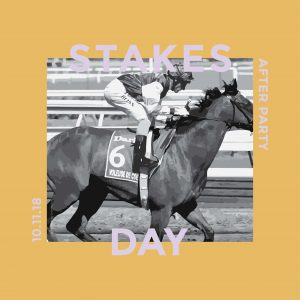 Stakes Day After Party Instagram Poster