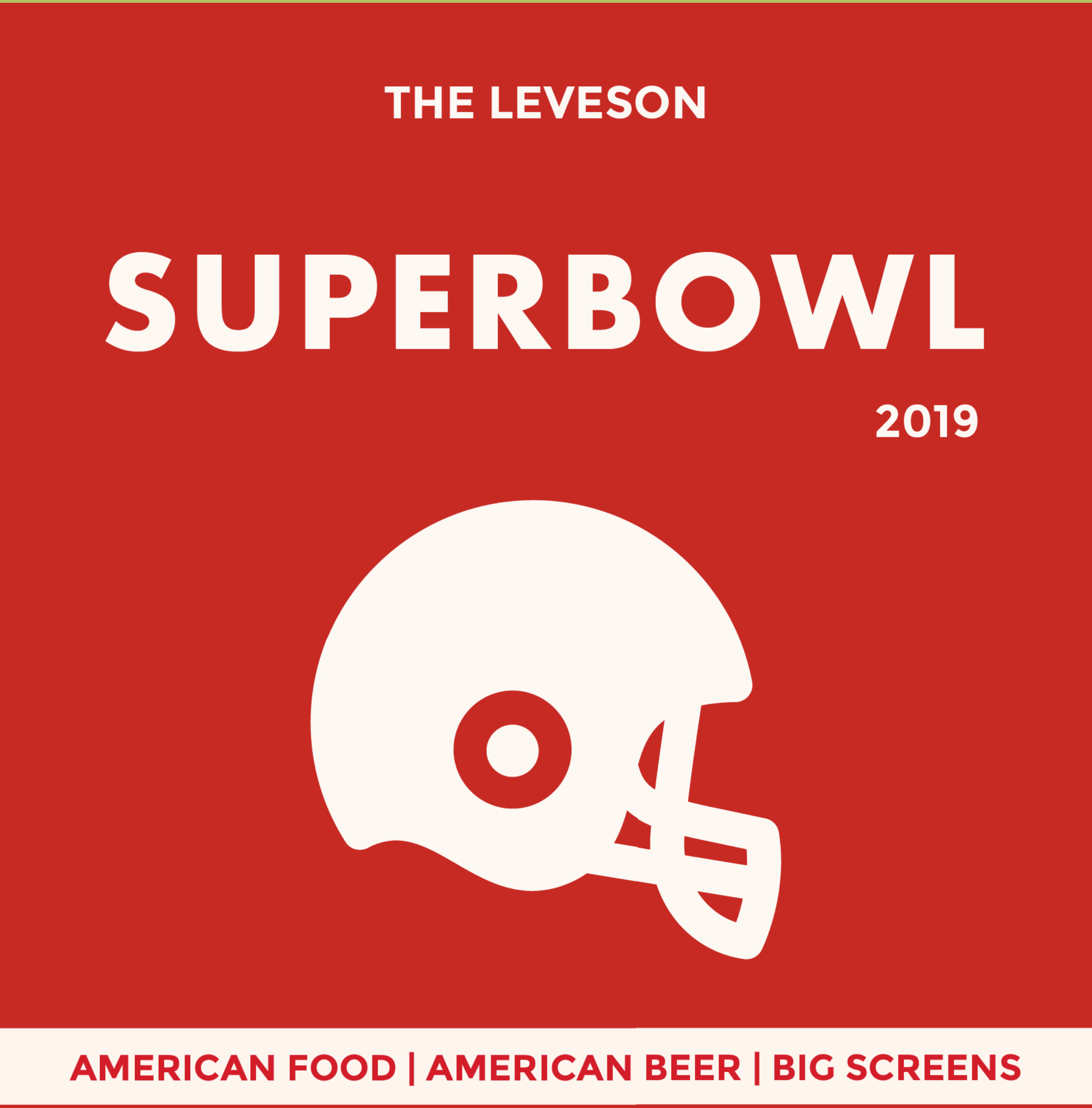 Upcoming Events - image Leveson_Superbowl19_A3-1-feat on https://theleveson.melbourne