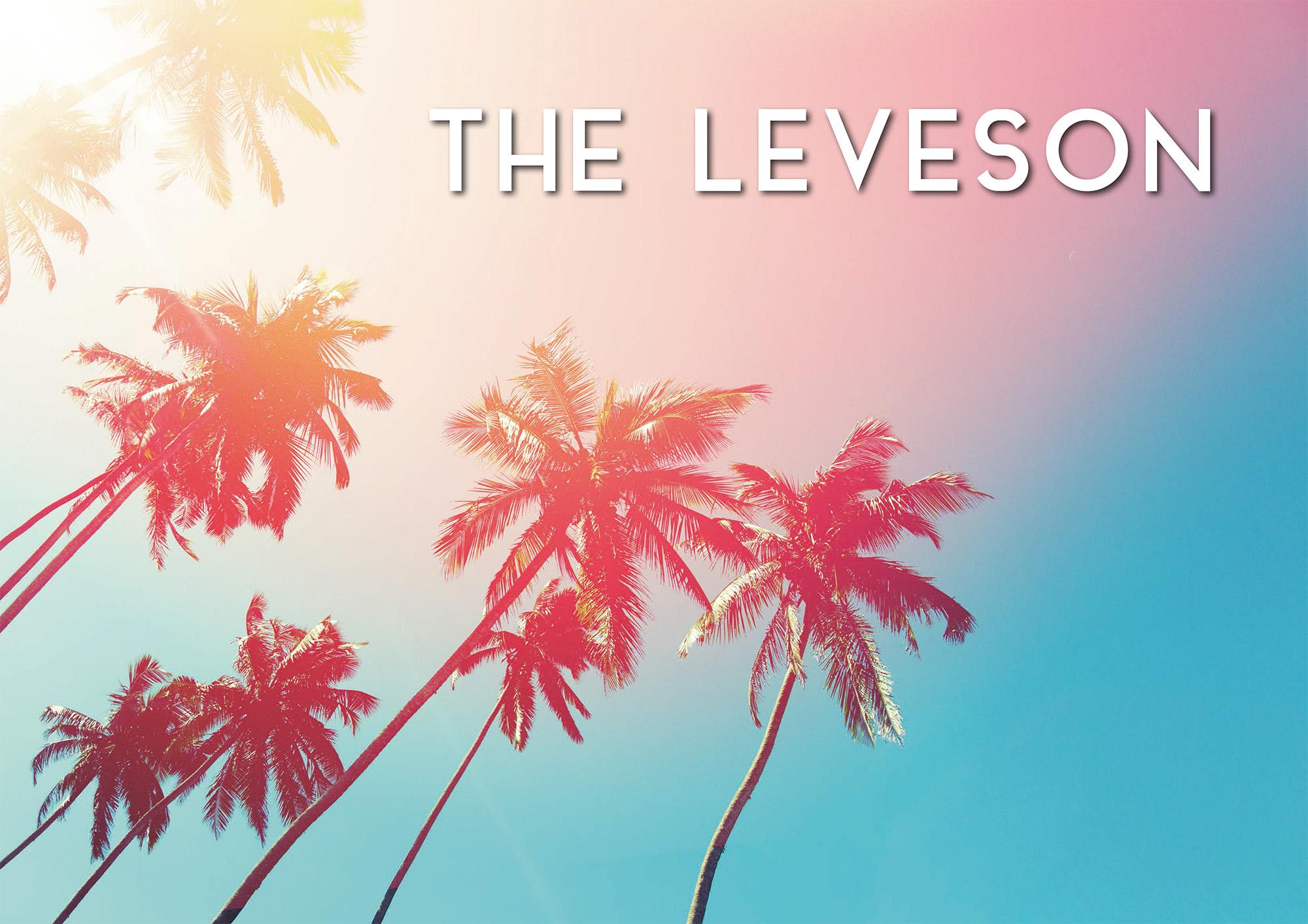 The Leveson Summer Menu